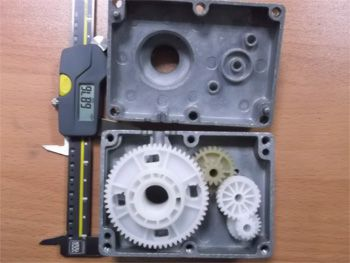 Treadmill Wire-Pulle Gearbox